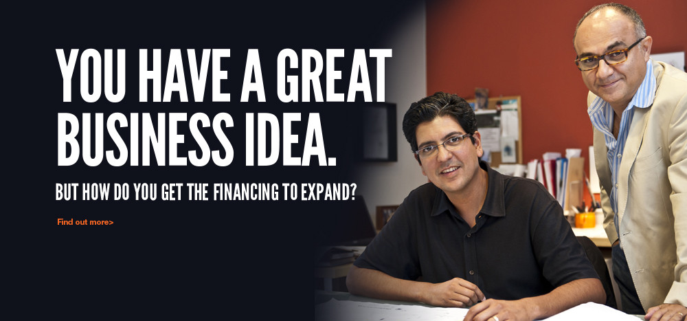 Get the financing to expand your business
